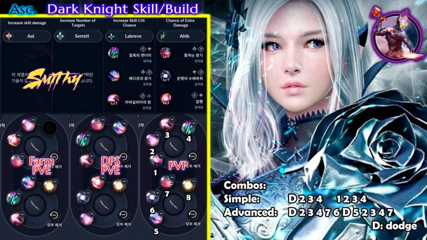 Skill build dark-knight