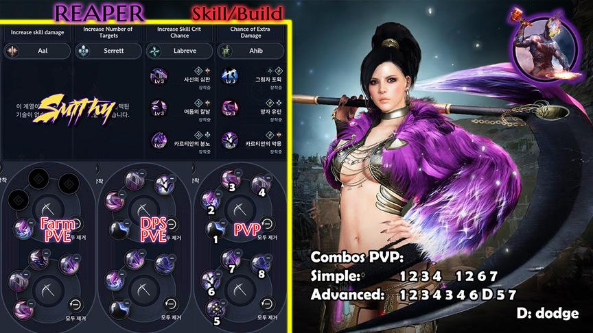 Skill build sorceress