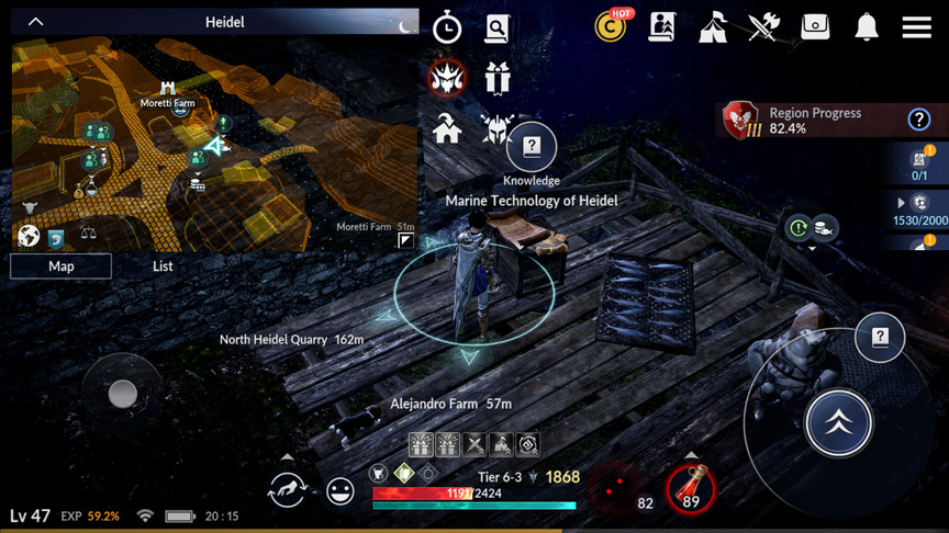 Marine Technology of Heidel
