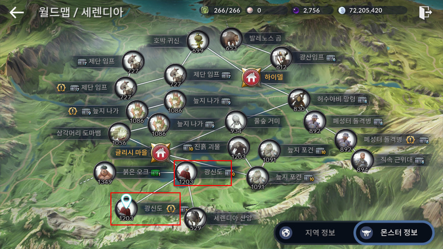 Система развития персонажа в Black Desert Mobile