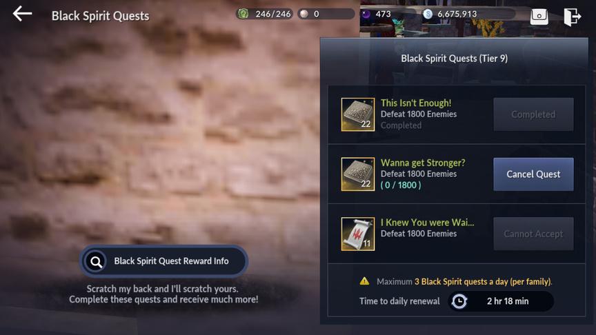 Обзор черного духа в Black Desert Mobile