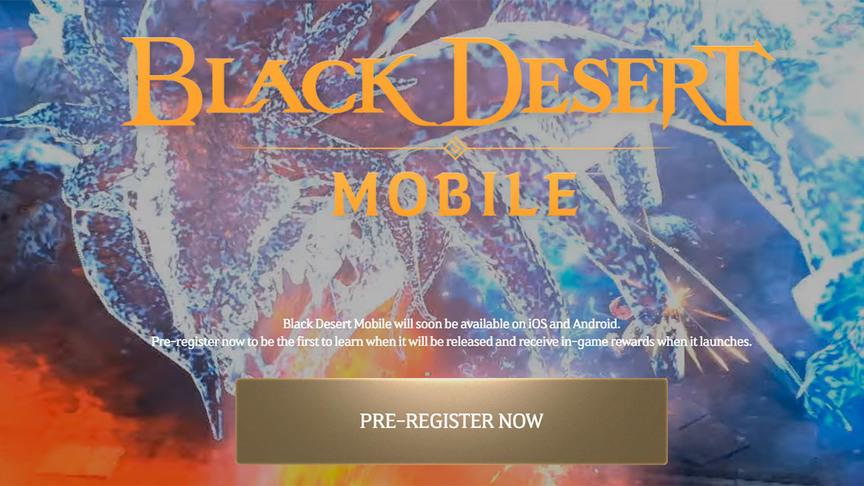 Пре регистрация Black Desert Mobile Global